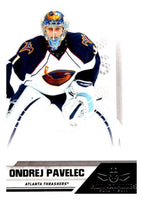 2010-11 Panini All-Goalies #6 Ondrej Pavelec Thrashers NHL Mint