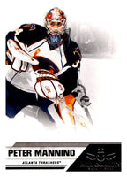 2010-11 Panini All-Goalies #7 Peter Mannino Thrashers NHL Mint