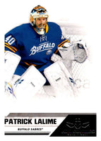 2010-11 Panini All-Goalies #11 Patrick Lalime Sabres NHL Mint