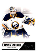 2010-11 Panini All-Goalies #12 Jhonas Enroth Sabres NHL Mint