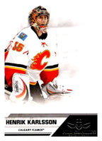 2010-11 Panini All-Goalies #14 Henrik Karlsson Flames NHL Mint