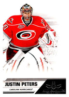 2010-11 Panini All-Goalies #16 Justin Peters Hurricanes NHL Mint