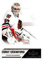 2010-11 Panini All-Goalies #17 Corey Crawford Blackhawks NHL Mint