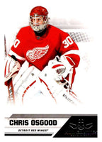 2010-11 Panini All-Goalies #26 Chris Osgood Red Wings NHL Mint