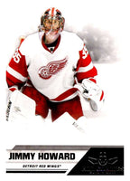 2010-11 Panini All-Goalies #27 Jimmy Howard Red Wings NHL Mint