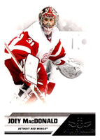 2010-11 Panini All-Goalies #28 Joey MacDonald Red Wings NHL Mint