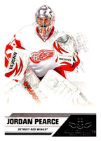 2010-11 Panini All-Goalies #29 Jordan Pearce Red Wings NHL Mint