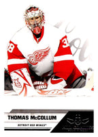 2010-11 Panini All-Goalies #30 Thomas McCollum Red Wings NHL Mint