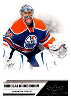 2010-11 Panini All-Goalies #31 Nikolai Khabibulin Oilers NHL Mint
