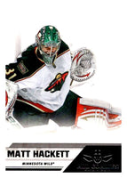 2010-11 Panini All-Goalies #39 Matt Hackett Wild NHL Mint