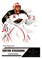 2010-11 Panini All-Goalies #42 Anton Khudobin NHL Mint