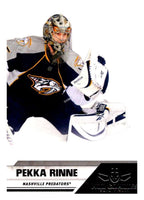 2010-11 Panini All-Goalies #45 Pekka Rinne Predators NHL Mint
