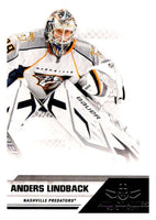 2010-11 Panini All-Goalies #46 Anders Lindback Predators NHL Mint