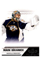 2010-11 Panini All-Goalies #47 Mark Dekanich Predators NHL Mint