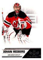2010-11 Panini All-Goalies #49 Johan Hedberg NJ Devils NHL Mint