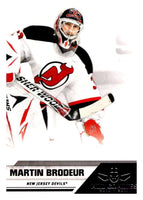 2010-11 Panini All-Goalies #50 Martin Brodeur NJ Devils NHL Mint