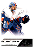 2010-11 Panini All-Goalies #53 Nathan Lawson NY Islanders NHL Mint