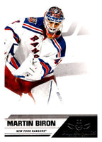 2010-11 Panini All-Goalies #57 Martin Biron NY Rangers NHL Mint
