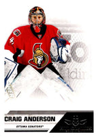 2010-11 Panini All-Goalies #58 Craig Anderson Senators NHL Mint