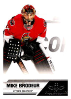 2010-11 Panini All-Goalies #61 Mike Brodeur Senators NHL Mint