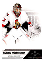 2010-11 Panini All-Goalies #62 Curtis McElhinney Senators NHL Mint