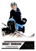 2010-11 Panini All-Goalies #70 Brent Johnson Penguins NHL Mint