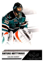 2010-11 Panini All-Goalies #71 Antero Niittymaki Sharks NHL Mint