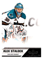 2010-11 Panini All-Goalies #73 Alex Stalock Sharks NHL Mint