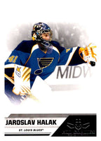 2010-11 Panini All-Goalies #76 Jaroslav Halak Blues NHL Mint