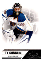 2010-11 Panini All-Goalies #77 Ty Conklin Blues NHL Mint