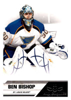 2010-11 Panini All-Goalies #78 Ben Bishop Blues NHL Mint