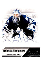 2010-11 Panini All-Goalies #84 Jonas Gustavsson Maple Leafs NHL Mint