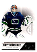 2010-11 Panini All-Goalies #86 Cory Schneider Canucks NHL Mint