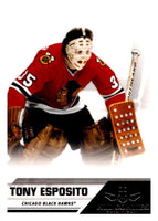 2010-11 Panini All-Goalies #91 Tony Esposito Blackhawks NHL Mint
