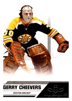 2010-11 Panini All-Goalies #93 Gerry Cheevers Bruins NHL Mint