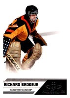 2010-11 Panini All-Goalies #99 Richard Brodeur Canucks NHL Mint