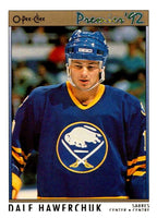 (HCW) 1991-92 OPC Premier #1 Dale Hawerchuk Sabres NHL Mint