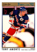 (HCW) 1991-92 OPC Premier #11 Tony Amonte RC Rookie Rangers NHL Mint