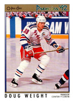 (HCW) 1991-92 OPC Premier #32 Doug Weight RC Rookie Rangers NHL Mint