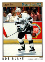 (HCW) 1991-92 OPC Premier #44 Rob Blake Kings NHL Mint