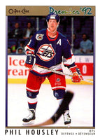 (HCW) 1991-92 OPC Premier #50 Phil Housley Winn Jets NHL Mint