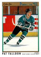 (HCW) 1991-92 OPC Premier #56 Pat Falloon Sharks NHL Mint
