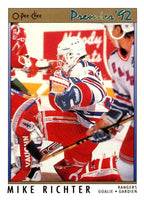 (HCW) 1991-92 OPC Premier #78 Mike Richter NY Rangers NHL Mint