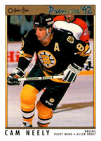 (HCW) 1991-92 OPC Premier #107 Cam Neely Bruins NHL Mint
