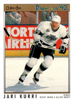 (HCW) 1991-92 OPC Premier #111 Jari Kurri Kings NHL Mint