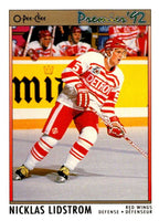 (HCW) 1991-92 OPC Premier #117 Nicklas Lidstrom RC Rookie Red Wings Mint