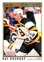 (HCW) 1991-92 OPC Premier #119 Ray Bourque Bruins NHL Mint