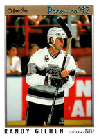 (HCW) 1991-92 OPC Premier #123 Randy Gilhen Kings NHL Mint