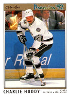 (HCW) 1991-92 OPC Premier #125 Charlie Huddy Kings NHL Mint