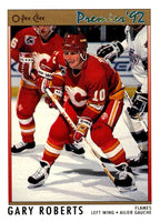 (HCW) 1991-92 OPC Premier #126 Gary Roberts Flames NHL Mint